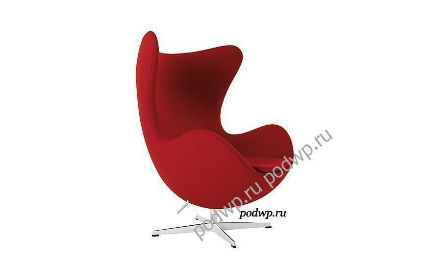 Egg Chair - кресло современном интерьере