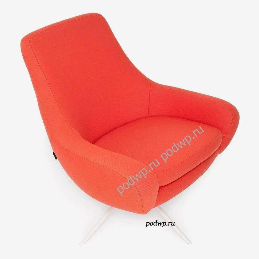 Softline Orange Noomi Swivel Chair - современное мягкое кресло