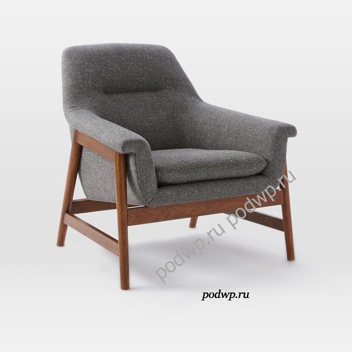 Theo Show Wood - современные кресла для гостиной