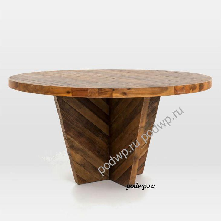 круглый стол на кухню Alexa Round Dining Table