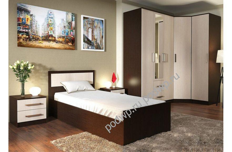Кровать BTS Фиеста 90×200 с основанием